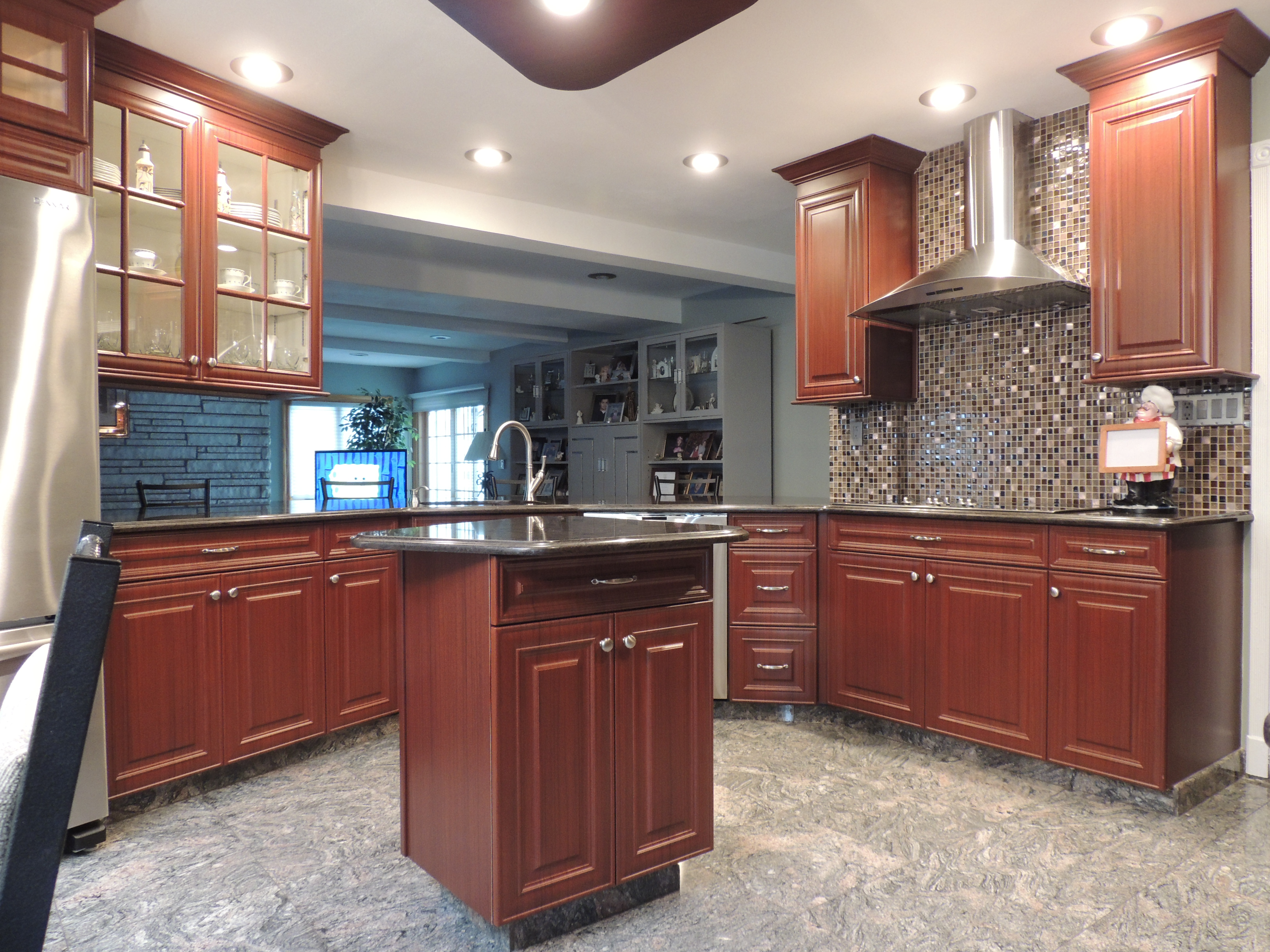 kitchen remodeling ideas new look kitchen refacing ny. Black Bedroom Furniture Sets. Home Design Ideas