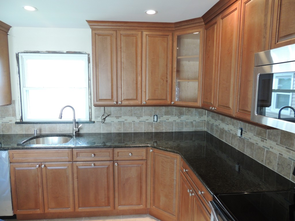 Solid Wood Kitchen Cabinet Refacing